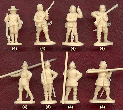 English Civil War Royalist Infantry