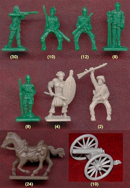 Age of Imperialism Figure Set