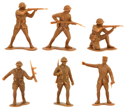 WWII French Infantry - in khaki
