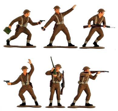 WWII British Infantry - Fully painted