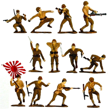 WWII Japanese Infantry - fully painted