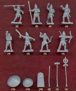 Ancient Assyrian Infantry