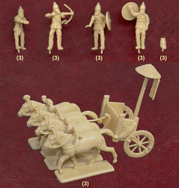 Ancient Assyrian Chariots