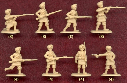 Late 19th Century Indian Infantry