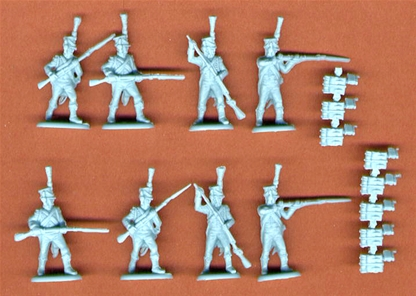 French Light Infantry Chasseurs Action