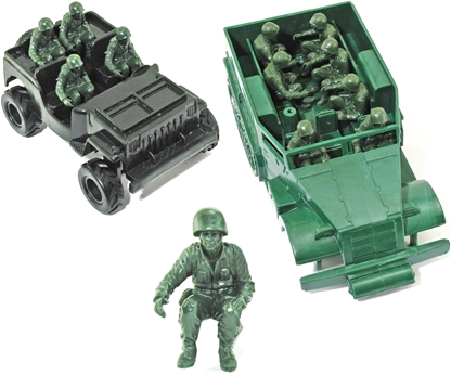 Seated U.S. Marines - set of 8