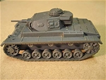 WW II German Panzer III Ausf G Light Tank