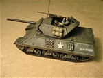 WWII U.S. M10 Tank Destroyer