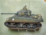WWII US Sherman M4A3 with 76mm Gun