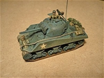WWII U.S. Sherman M4A3 Tank with 75mm Gun