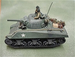 WWII U.S. Sherman M4A3 Tank with 105mm Gun