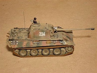WWII German Panther AUSF G Heavy Tank