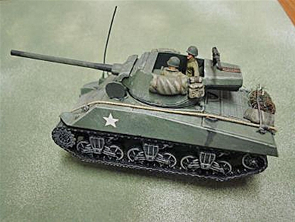 WWII U.S. T-36 Jackson 90mm Anti-Tank Vehicle