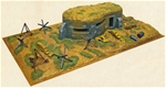 WW II Concrete Bunker with Playbase