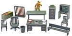 U.S. Army Office Accessories - fully painted