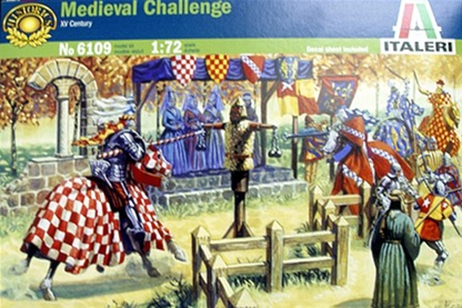 Small Medieval Tournament - retired - 1 set left