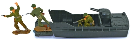 WWII Landing Craft - set of 2 LCVPs