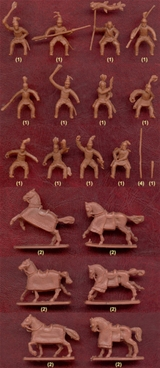 Parthian Cataphracts with Armored Horses