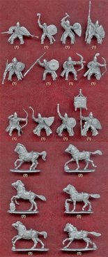 Russ Mounted Knights - 11th-13th Century