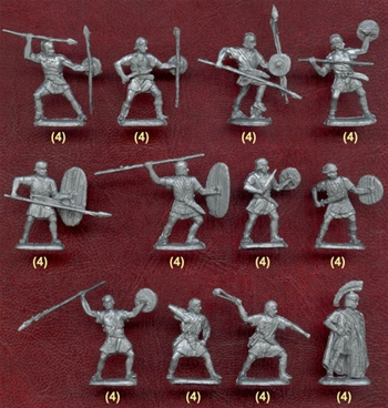 Ancient Iberian Infantry - Age of Rome/Carthage