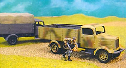 WWII German Army Trucks