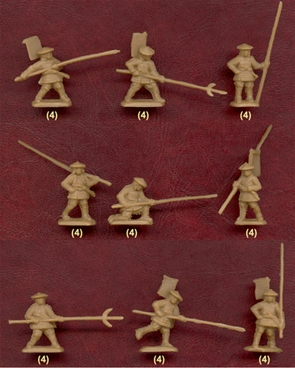 Japanese Ashigaru Spearmen