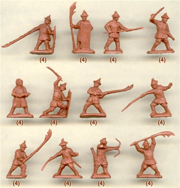 Chinese Infantry of the XVI-XVII Centuries
