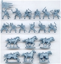 Medieval Russian Mounted Knights