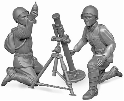 Soviet 82mm Heavy Mortar Teams 1941-43