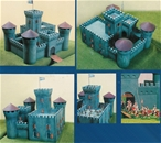 Stone Castle w Round Towers