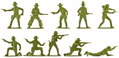 Cowboys - set of 20 in 10 poses