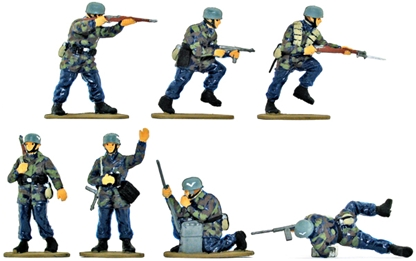 WW II German Paratroops - basic painted version