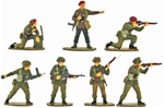 WW II British Paratroops - Fully painted version