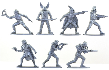 Space Warriors - set of 14