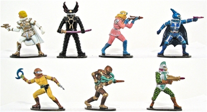 Space Warriors - Fully painted version