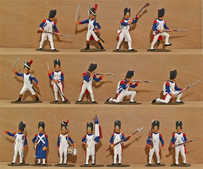 French Imperial Guard 1815 - Fully painted