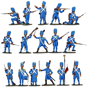French Imperial Guard 1815 - Basic-plus paint