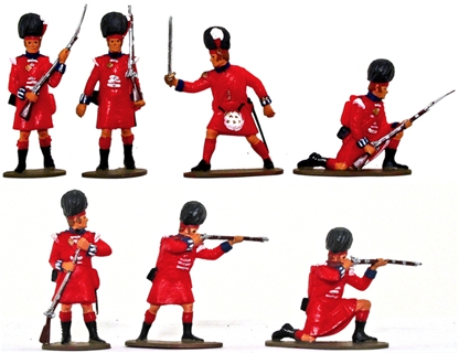 Highland Infantry 1815 - Basic-Plus Painted