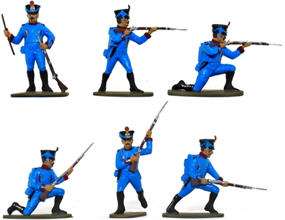 French Line Infantry 1815 - Basic-Plus painted