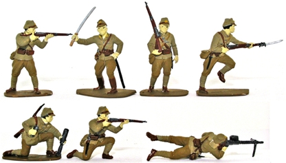 WW II Japanese Infantry - Fully painted