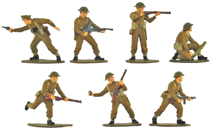 WW II British Infantry - Fully Painted version