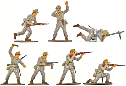 WW II Afrika Korps - Basic Painted Version