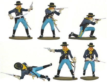 7th Cavalry Dismounted - Fully Painted Version