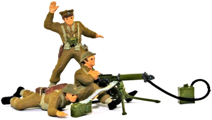 WWII British Infantry Support Group - Full paint