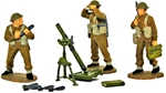 WWII British Infantry Mortar Team - Full paint