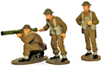 WWII British Infantry Bazooka Team - Full paint
