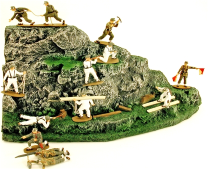 WWII German Mountain Troops - fully painted