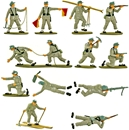 WWII German Mountain Troops - Basic painted