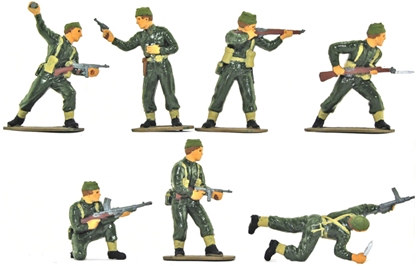 WWII British Commandos - Basic painted version