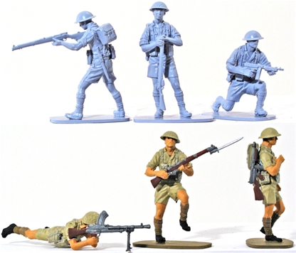 WWII British 8th Army - Full paint